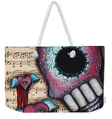 Melting Hearts  Weekender Tote Bag by Abril Andrade Griffith