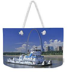 Memco Towboat In St Louis Weekender Tote Bag