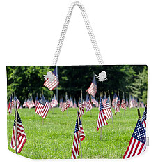 Weekender Tote Bag featuring the photograph Memorial Day by Ed Weidman