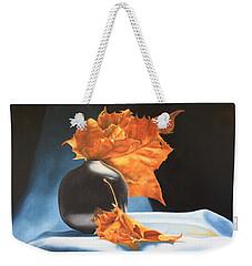 Memories Of Fall - Oil Painting Weekender Tote Bag