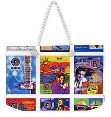 Posters Of Music Weekender Tote Bag