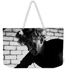 Weekender Tote Bag featuring the photograph Men At Work - Series I by Doc Braham