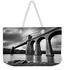 Menai Suspension Bridge Weekender Tote Bag