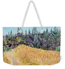 Mendocino High Grass Meadow At Susan's Place In July Weekender Tote Bag