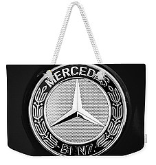 Mercedes-benz 6.3 Gullwing Emblem Weekender Tote Bag