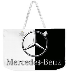 Mercedes-benz Logo Weekender Tote Bag