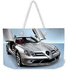 Mercedes Benz Slr Mclaren Weekender Tote Bag