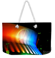Weekender Tote Bag featuring the photograph Louisiana Superdome Mercedes Benz  In New Orleans Louisiana by Michael Hoard