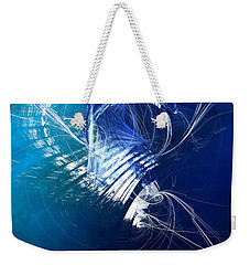 Mercury In Cancer - Cardinal Water Weekender Tote Bag by Menega Sabidussi