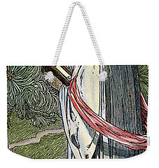 Weekender Tote Bag featuring the drawing Merlin The Magician, 1923 by Granger