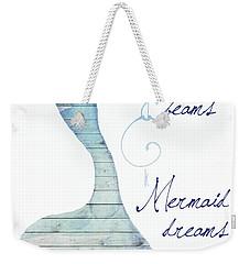 Mermaid Dreams Weekender Tote Bag