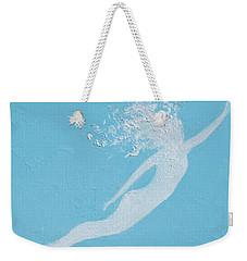 Mermaid Weekender Tote Bag by Jan Matson