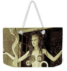 Weekender Tote Bag featuring the photograph Mermaid by Jean Goodwin Brooks