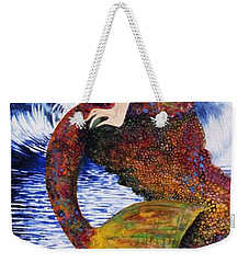Mermaid Love Weekender Tote Bag