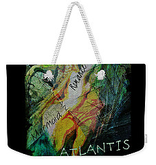 Weekender Tote Bag featuring the digital art Mermaid Love Spell by Absinthe Art By Michelle LeAnn Scott
