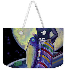 Mermaid Mother Weekender Tote Bag