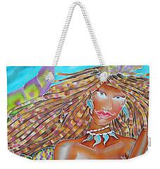 Mermaid Queen Weekender Tote Bag