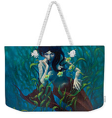 Mermaid Weekender Tote Bag by Rob Corsetti