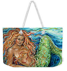 Mermaid Sleep New Weekender Tote Bag