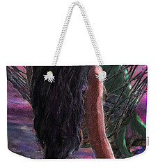 Mermaid Sunset With Cocktail Weekender Tote Bag