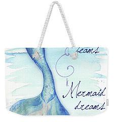 Mermaid Tail I Weekender Tote Bag