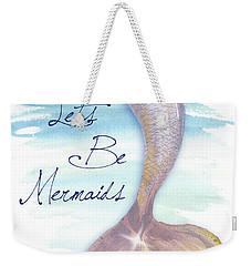 Mermaid Tail II Weekender Tote Bag