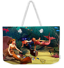 Mermaid Treasures Weekender Tote Bag