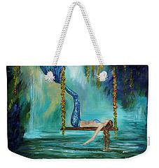 Mermaids Lazy Lagoon Weekender Tote Bag