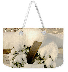 Weekender Tote Bag featuring the photograph Merry Christmas by Alana Ranney