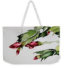 Merry Christmas Cactus 2013 Weekender Tote Bag