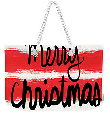 Merry Christmas- Greeting Card Weekender Tote Bag