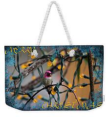 Merry Christmas Hummer Weekender Tote Bag