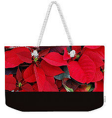 Merry Christmas And Hapy New Year  Weekender Tote Bag by Marija Djedovic