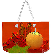 Weekender Tote Bag featuring the photograph Merry Christmas by Teresa Zieba