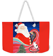 Merry Christmas To All Weekender Tote Bag
