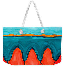 Mesa Canyon Rio Original Painting Weekender Tote Bag