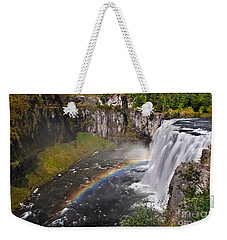 Mesa Falls Weekender Tote Bag by Robert Bales