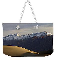 Mesquite Dunes And Grapevine Range Weekender Tote Bag by Joe Schofield