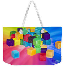 Mess Of Colour Weekender Tote Bag