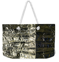 Metallic Reflection Weekender Tote Bag