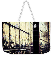 Metallic Reflections Weekender Tote Bag by Melanie Lankford Photography