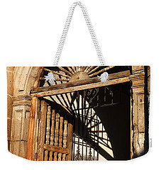 Mexican Door 27 Weekender Tote Bag by Xueling Zou