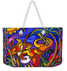 Latin Music Weekender Tote Bag