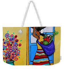 Mexican Street Vendor Weekender Tote Bag