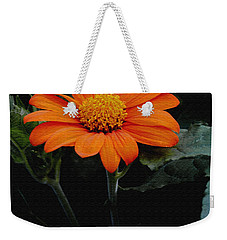 Mexican Sunflower Weekender Tote Bag by James C Thomas