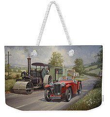 Mg Sports Car. Weekender Tote Bag
