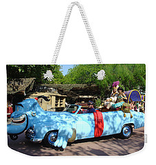 Weekender Tote Bag featuring the photograph Mgm Aladdin by David Nicholls