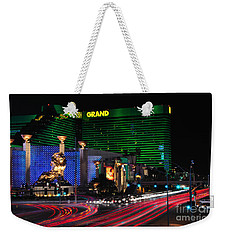 Mgm Grand Hotel And Casino Weekender Tote Bag