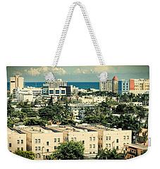 Miami Beach-0156 Weekender Tote Bag