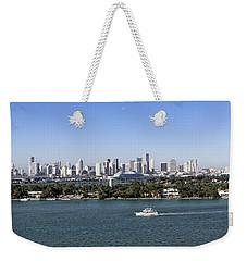 Miami Daytime Panorama Weekender Tote Bag